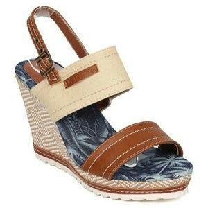 New Summer Wedge Platform Open Toe Sandals